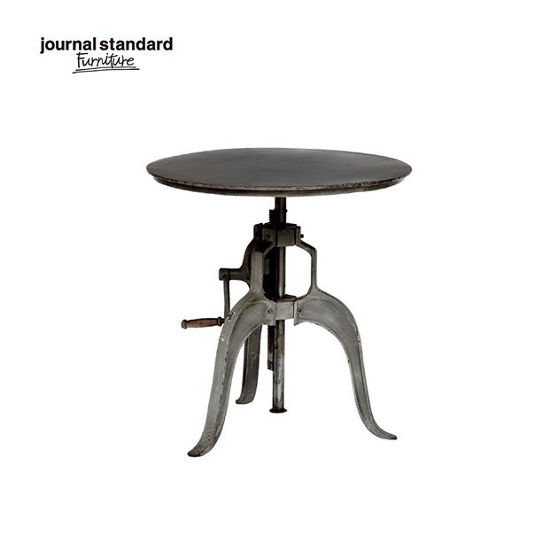 ジャーナルスタンダードファニチャー journal standard Furniture GUIDEL ATELIER TABLE S ギデル アトリエテーブル スモール 直径60cm 鉄製 アイアン 什器 おしゃれ 収納 店舗 ショップ 事務所 アパレル 送料無料