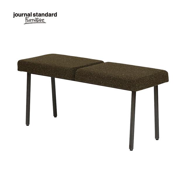 ジャーナルスタンダードファニチャー journal standard Furniture REGENT BENCH KH リージェント ベンチ 幅100cm カーキ 椅子 木製 布地 玄関 ナチュラル おしゃれ カフェ 北欧 ミッドセンチュリー 送料無料
