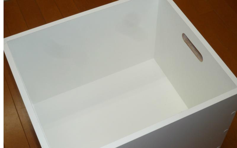 木の箱(白)サイズオーダー可能