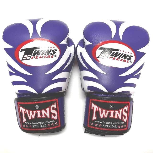 TWINS SPECIAL ボクシンググローブ 10oz T紫 /ボクシング/ムエタイ/グローブ/キック/フィットネス/本革製/10オンス