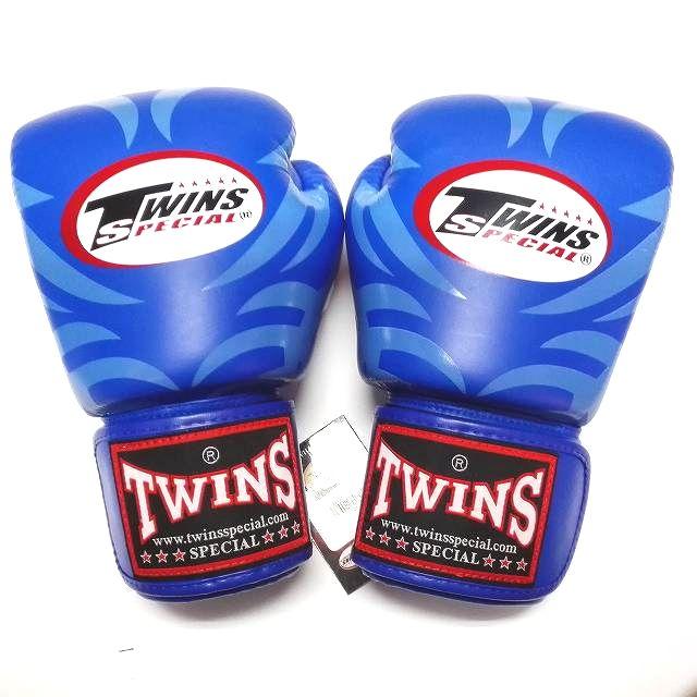 TWINS SPECIAL ボクシンググローブ 8oz T青 /ボクシング/ムエタイ/グローブ/キック/フィットネス/本革製/8オンス
