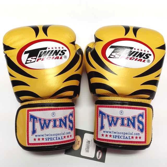 TWINS SPECIAL ボクシンググローブ 14oz T金黒 /ボクシング/ムエタイ/グローブ/キック/フィットネス/本革製/14オンス