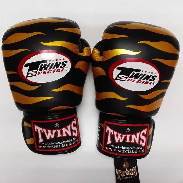 TWINS SPECIAL ボクシンググローブ 10oz Z黒金 /ボクシング/ムエタイ/グローブ/キック/フィットネス/本革製/ツインズ/オンス