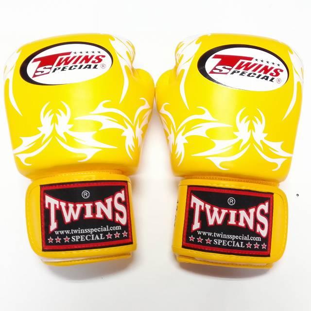 品質保証 TWINS SPECIAL TWINS ボクシンググローブ 16oz トライバルYE SPECIAL/ボクシング/ムエタイ トライバルYE/グローブ/キック/フィットネス/本革製/ツインズ/大人用/オンス, なみのりこぞう:887b7894 --- trattoriarestaurant.ie
