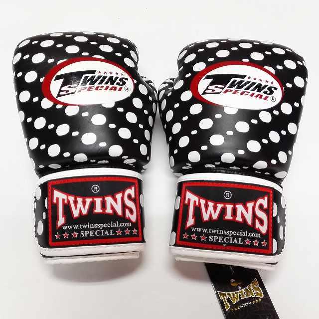 TWINS SPECIAL ボクシンググローブ 10oz 黒玉 /ボクシング/ムエタイ/グローブ/キック/フィットネス/本革製/ツインズ/大人用/10オンス