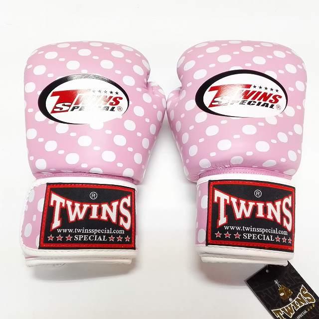 TWINS SPECIAL ボクシンググローブ 14oz 桃玉 /ボクシング/ムエタイ/グローブ/キック/フィットネス/本革製/ツインズ/大人用/14オンス