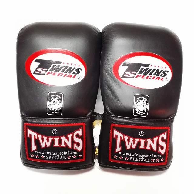 TWINS SPECIAL パンチンググローブ 黒 /ボクシング/ムエタイ/グローブ/キック/本革製/ツインズ/大人用