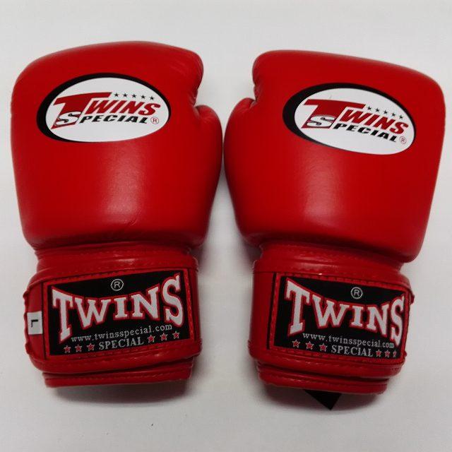 子供用 TWINS SPECIAL ボクシンググローブ 赤 /ボクシング/ムエタイ/グローブ/キック/ツインズ/キッズ/ジュニア