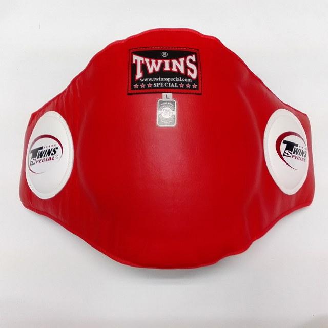 TWINS SPECIAL ボディープロテクター 赤 /本革製/ボクシング/ムエタイ/キック/ツインズ/大人用