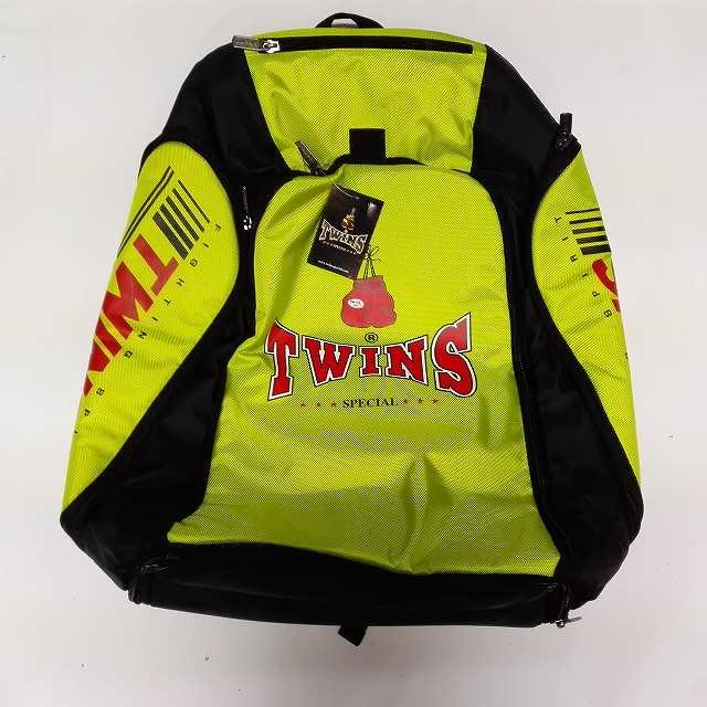 TWINS SPECIAL バッグパック 緑 /ボクシング/ムエタイ/キック/ツインズ/大人用/バッグ/リュック