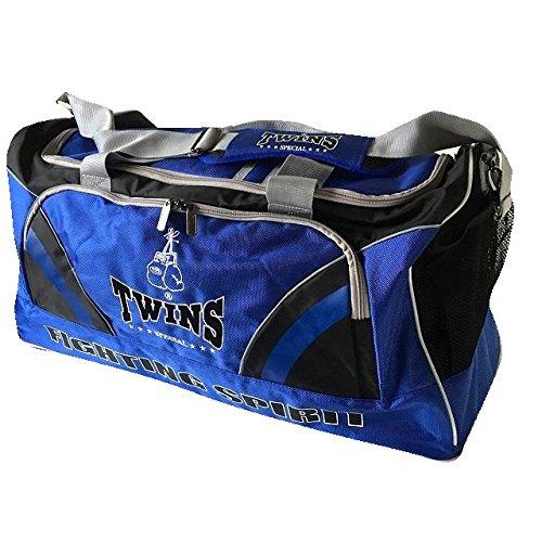 TWINS SPECIAL 大型ジムバッグ 青黒 /ボクシング/ムエタイ/キック/ツインズ/大人用/バッグ