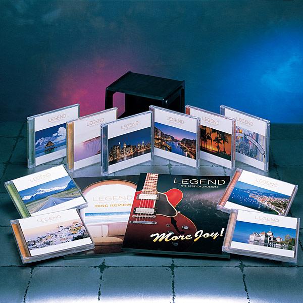 レジェンド―ザ・ベスト・オブ・J-フュージョン― CD全10巻【一括払い】