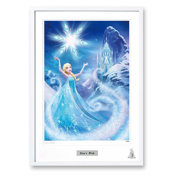 ディズニー高精細複製原画 Magical Drawing アナと雪の女王