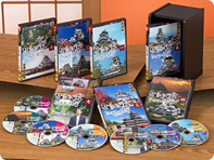 坂東三津五郎がいく 日本の城ミステリー紀行 DVD全7巻【一括払い】