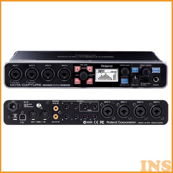 ≪送料無料≫ローランド(Roland) USBオーディオインターフェースOCTA CAPTURE UA-1010