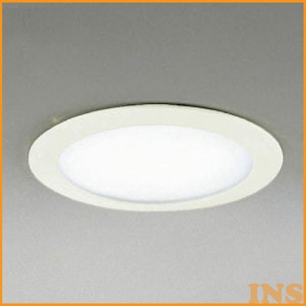 オーデリック(ODELIC) ダウンライト(軒下用) ホワイト OD062709 電球色