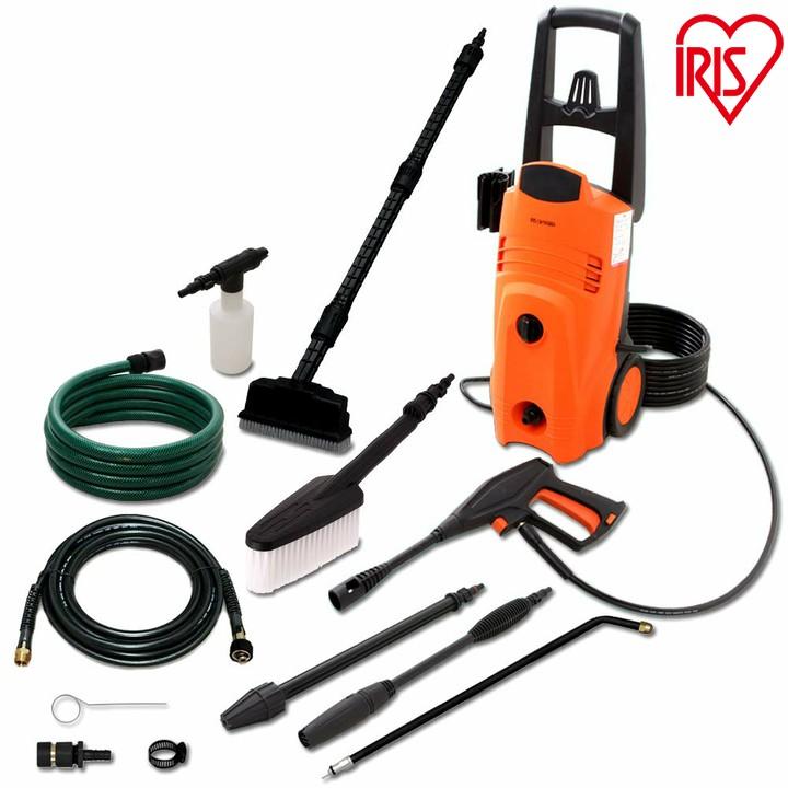 高圧洗浄機 15点セット FIN-801PW 60Hz(西日本専用)・FIN-801PE 50Hz(東日本専用) 静音 洗浄機 高圧洗浄 洗車 外壁 掃除 セット アイリスオーヤマ 81smn
