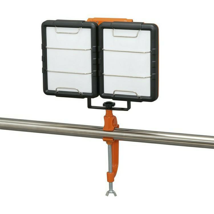 LEDクランプライト LWT-7500C-AJ 照明 LED LEDライト LED照明 ライト 投光器 作業灯 長寿命 省電力 作業用品 くらんぷ とうこうき LED投光器 投光器 作業灯 スタンドライト 屋内 アイリスオーヤマ