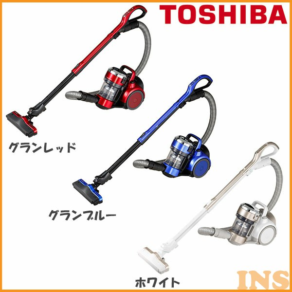 TOSHIBA サイクロン式クリーナー トルネオ V VC-SG514-R・VC-SG514-L・VC-SG514-W グランレッド・グランブルー・ホワイト