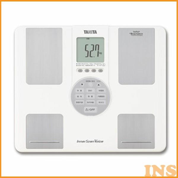 インナースキャンVoice BC-202 ホワイト TANITA(タニタ) (体重計/ヘルスメーター/体組成計/体脂肪率/内臓脂肪レベル//インナースキャン)[3ss]