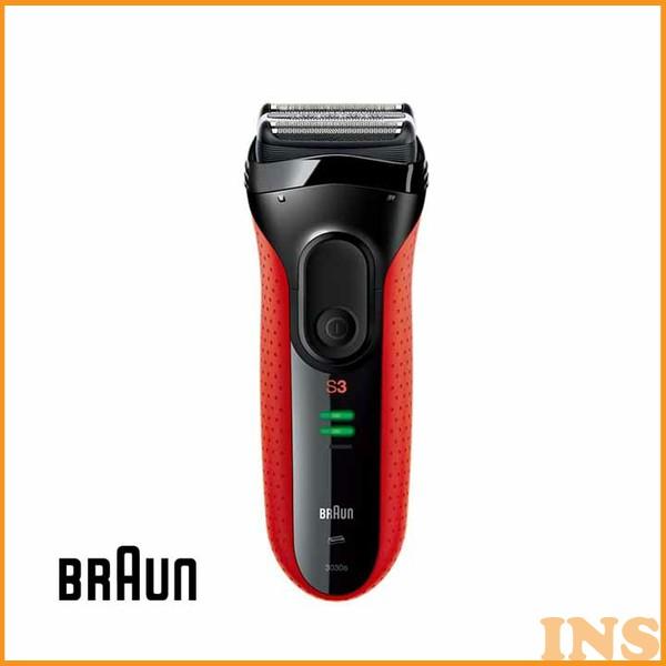 ≪送料無料≫【シェイバー 髭剃り】シリーズ3【メンズ BRAUN】ブラウン 3030S