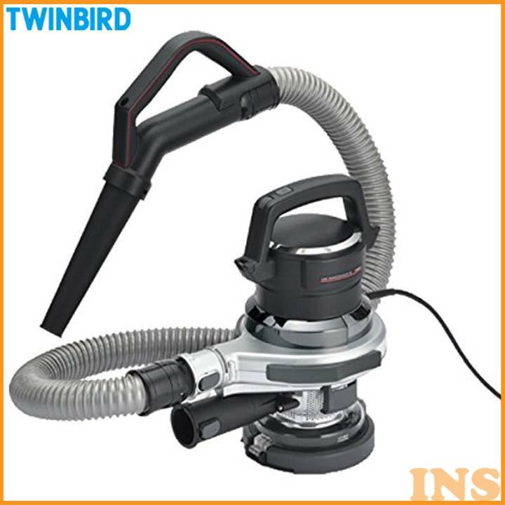 洗車サポートクリーナー カーメンテナンスα シルバー HC-E255S 掃除機 ハンディ クリーナー 洗車 ハンディクリーナー ツインバード TWINBIRD[3ss]