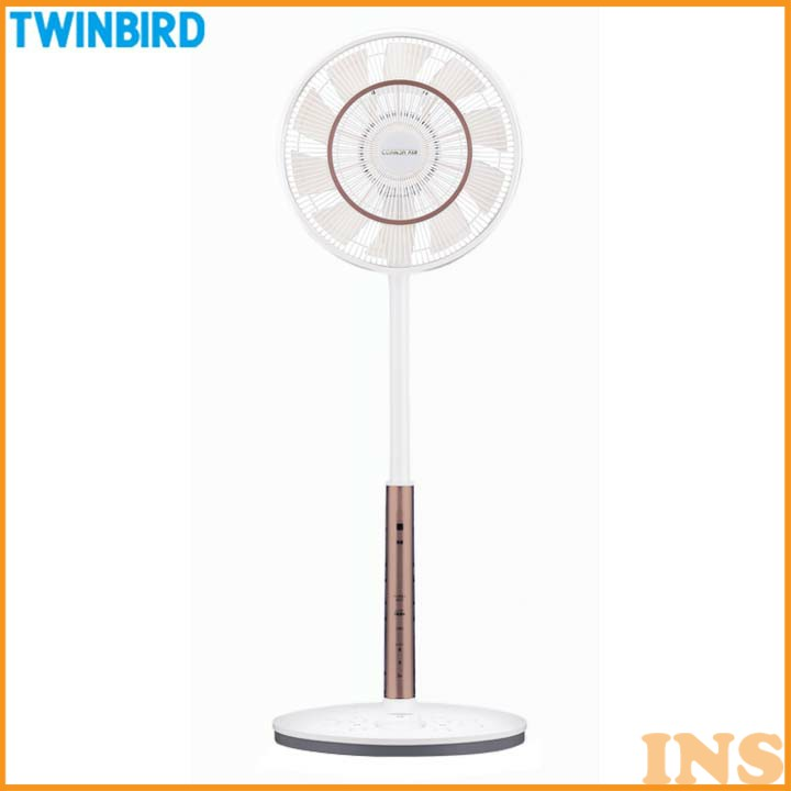 コアンダエア ホワイト EF-DJ69W 扇風機 サーキュレーター リモコン タイマー 首振り ツインバード TWINBIRD