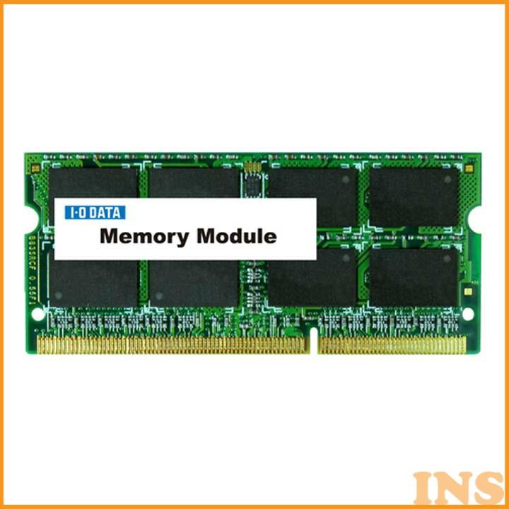 ノートPC用PC3L-12800(DDR3L-1600)対応メモリー8GB SDY1600L-8Gノート 低電圧 メモリー ノートパソコン用 ノートメモリー ノートノートパソコン用 低電圧メモリー メモリーノート ノートパソコン用ノート アイ・オー・データ機器