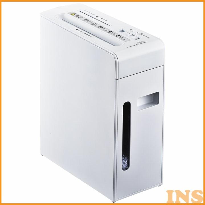 マルチシュレッダー 白 SHR-MX501C-W シュレッダー 電動 A4 CD DVD シュレッダーA4 シュレッダー 電動A4 A4シュレッダー シュレッダー A4電動 オーム電機