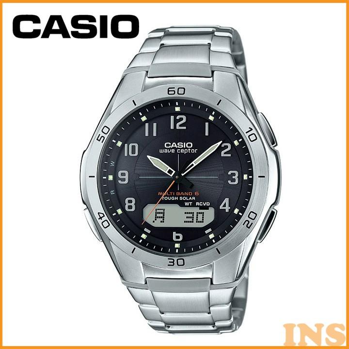 電波腕時計 WVA-M640D-1A2JF 腕時計 電波時計 防水 アナログ カシオ
