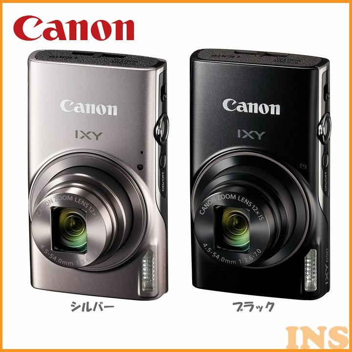 デジタルカメラ IXY650 カメラ 写真 フォト CANON キヤノン シルバー・ブラック