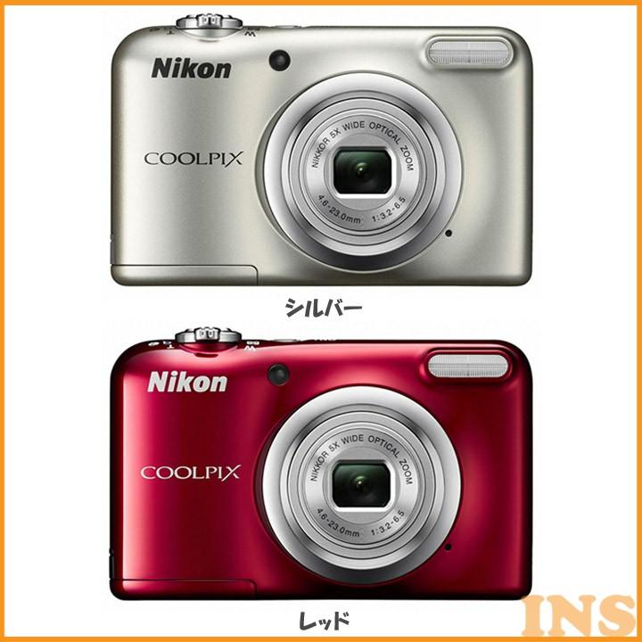 ニコン 光学5倍 デジタルカメラ 特典SDHC8GB付 A10SL カメラ デジカメ デジタルカメラ デジタルカメラ 高画質 手ぶれ補正 手ブレ補正 電池対応 でじかめ でじたるかめら NIKON ニコン シルバー レッド【D】