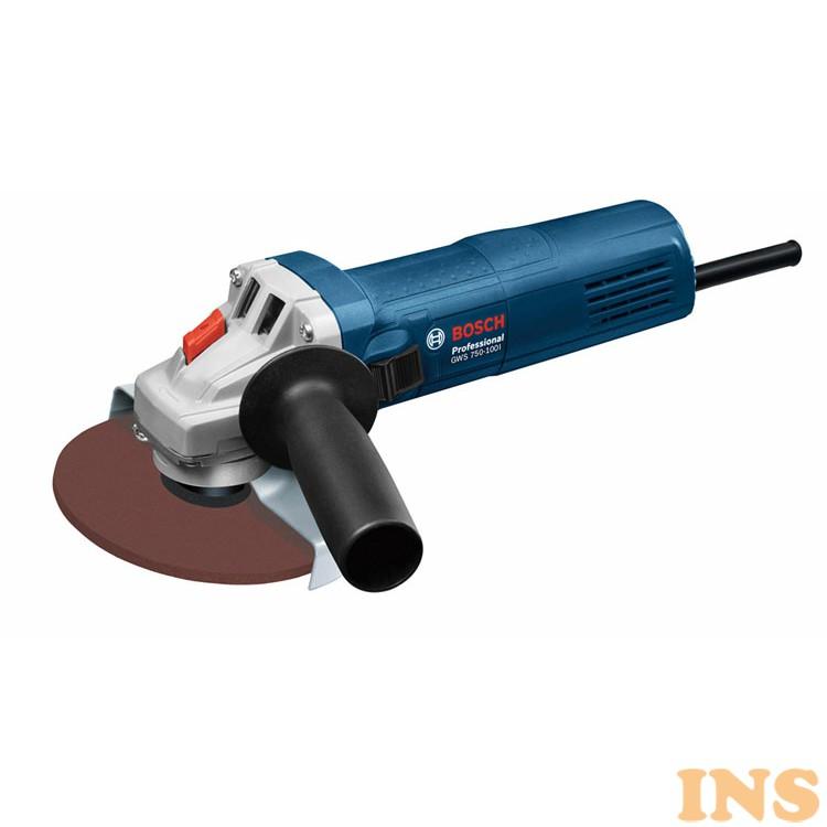 ディスクグラインダー BL GWS750-100I 送料無料 ボッシュ ディスクグラインダー グラインダー 電動工具 工具 ブルー BOSCH 【D】