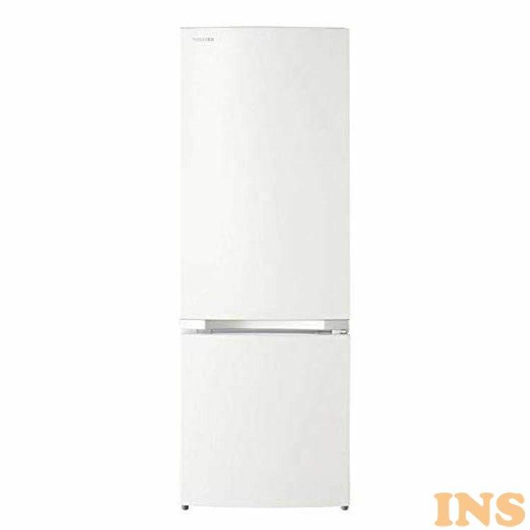 無料設置サービス♪ 2ドア冷蔵庫 パールホワイト GR-P17BS(W)冷蔵庫 170L コンパクトサイズ 冷蔵室127L 新生活 引っ越し 引越 一人暮らし 冷凍 右開き 【D】