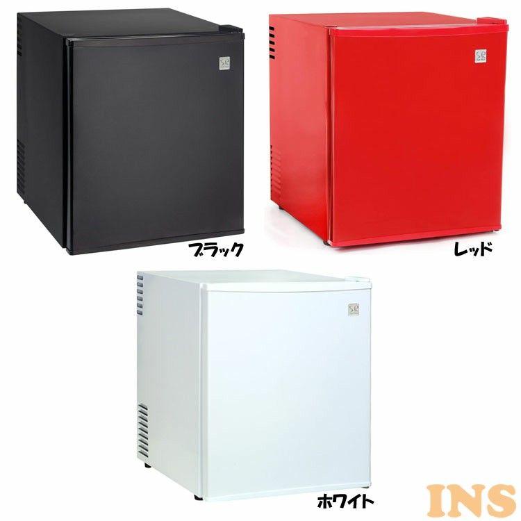 SunRuck 1ドア電子冷蔵庫 48L 「冷庫さん」 SR-R4802-K 送料無料 冷蔵庫 小型冷蔵庫 48L カラー ペルチェ方式 コンパクトサイズ 静か 棚取り外し 3色 2Lペットボトル ブラック レッド ホワイト【D】