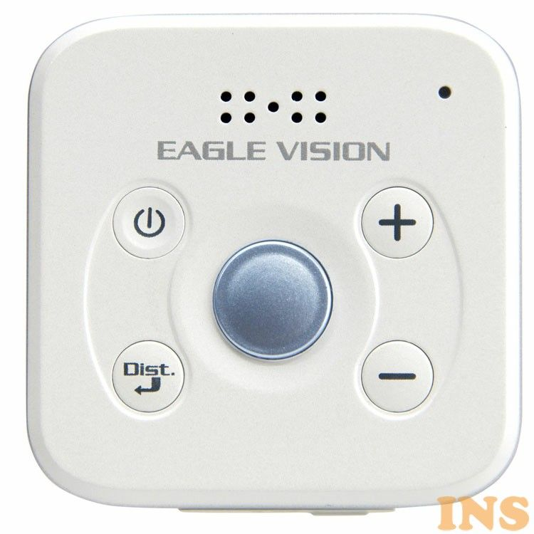 ゴルフ 計測計 距離計 ゴルフナビ イーグルビジョン EAGEL VISION EV GPS D EV-803 ホワイト 新作通販 高低差表示 EAGLE セットアップ ピンポジ君対応 朝日ゴルフ voice3