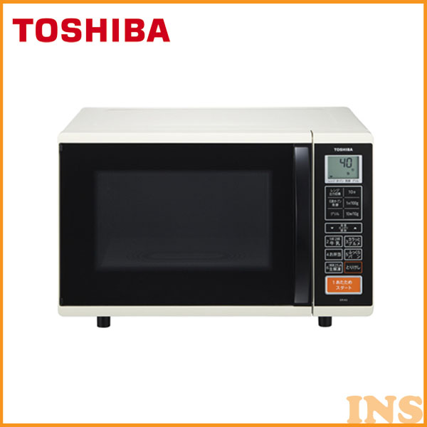 TOSHIBA〔東芝〕 オーブンレンジ[17L] ER-K3-W アイボリーホワイト [遠赤外線][石窯オーブン]