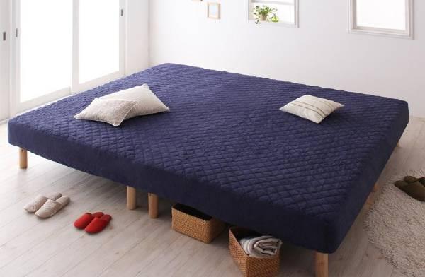 ポケットコイル ELAMS 1,000円OFFクーポン タオルタイプセット エラムス (UF) 脚15cm  キング ブラックフライデー 家族を繋ぐ大型マットレスベッド