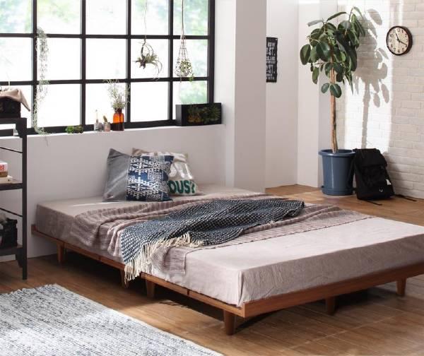(UF) デザインボードベッド Bona ボーナ プレミアムボンネルコイルマットレス付き 木脚タイプ フルレイアウト シングル フレーム幅100  (UF1)