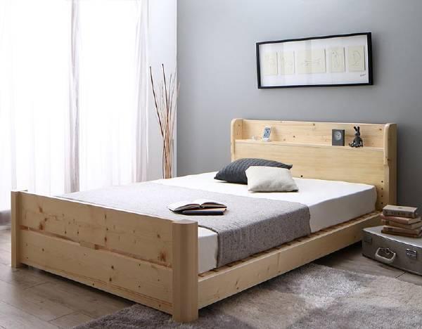 (UF) ローからハイまで高さが変えられる6段階高さ調節 頑丈天然木すのこベッド ishuruto イシュルト マルチラススーパースプリングマットレス付き シングル (UF1)