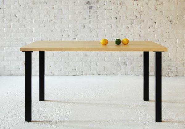 (UL)西海岸テイスト モダンデザインリビングダイニング DIEGO ディエゴ ダイニングテーブル W120(UL1)