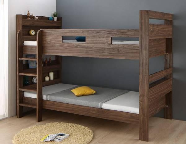 (UL) ずっと使える!2段ベッドにもなるワイドキングサイズベッド Whentoss ウェントス 薄型・抗菌国産ポケットコイルマットレス付き ワイドK200(UL1)