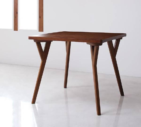 (UL)新生活応援 ダイニングテーブル 北欧モダンデザインダイニング VILLON ヴィヨン/テーブル(W80)(UL1)