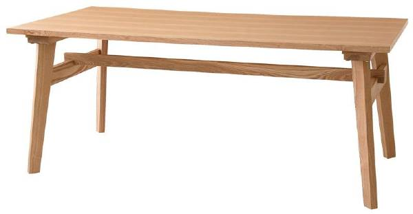 (UL)新生活応援 天然木北欧スタイル ソファダイニング Milka ミルカ ダイニングテーブル W160(UL1)