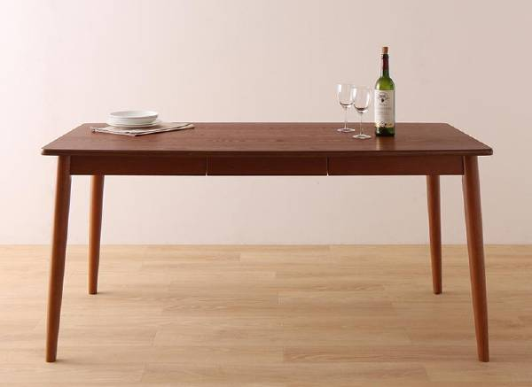 (UL) 新生活応援 ダイニングテーブル さっと拭ける PVCレザーダイニング fassio ファシオダイニングテーブル W150 (UL1)