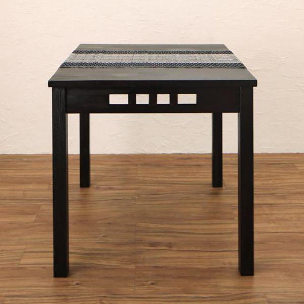 (UL)アジアンモダンダイニング Kubera クベーラ ダイニングテーブル W76(UL1)