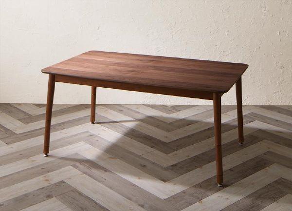 (UL)ずっと使えて快適。こたつもソファも高さ調節できるソファダイニング Famoria ファモリア ダイニングこたつテーブル W135(UL1)