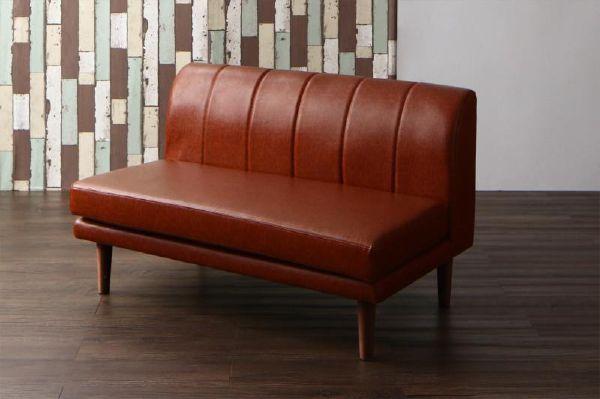 (UL) こたつもソファも高さ調節できる 棚付きリビングダイニング Norld ノールド ダイニングソファ 2P 【スーパーSALE 1,000円OFFクーポン】