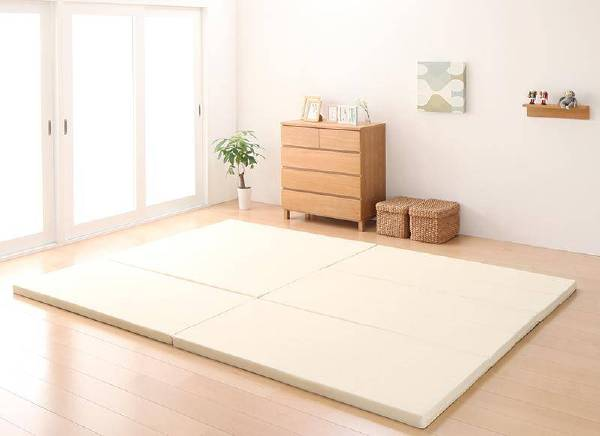 (UL) ソファになるから収納いらず 3サイズから選べる家族で寝られるマットレス ワイドK200 (UL1)