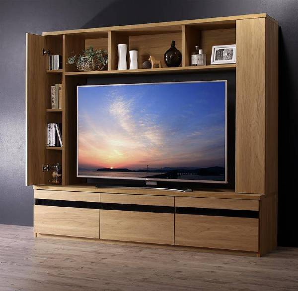 (UL)55型対応ハイタイプテレビボード TITLE タイトル(UL1)